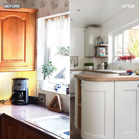 Kitchen Design Pictures  Before and after Light and airy coastal inspired kitchen