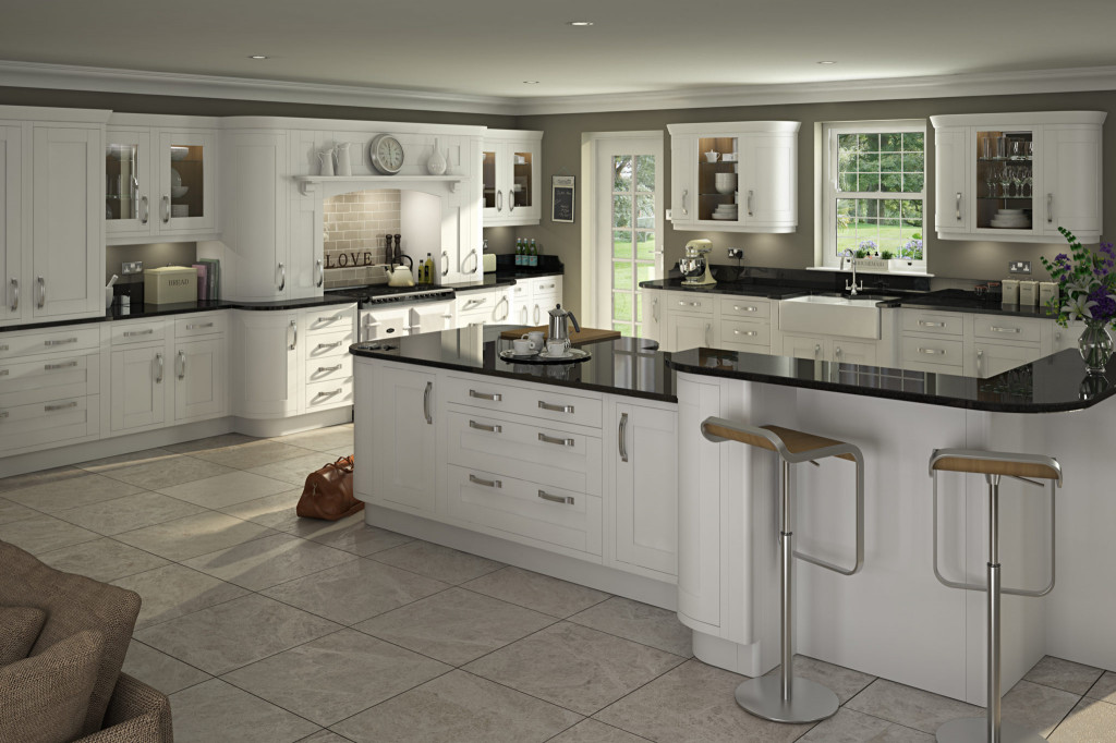 Kitchen Design Pictures  Traditional in frame kitchen design painted kitchens