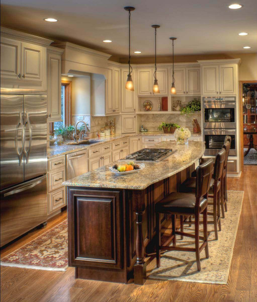 Kitchen Designs With Islands  68 Deluxe Custom Kitchen Island Ideas Jaw Dropping Designs