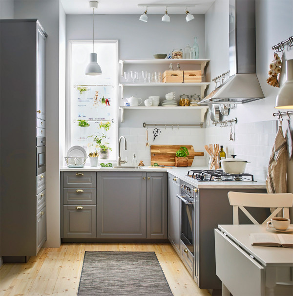 L Shaped Kitchen Designs  50 Lovely L Shaped Kitchen Designs & Tips You Can Use From