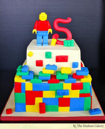 Lego Birthday Cake  Lego cakes on Pinterest