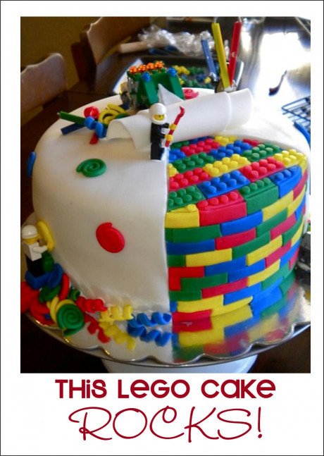 Lego Birthday Cake  It s Written on the Wall It s Party Time Ideas for Yummy