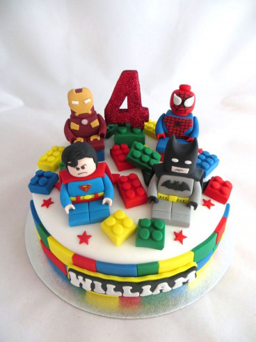 Lego Birthday Cake  1000 images about Lego Birthday Cakes on Pinterest