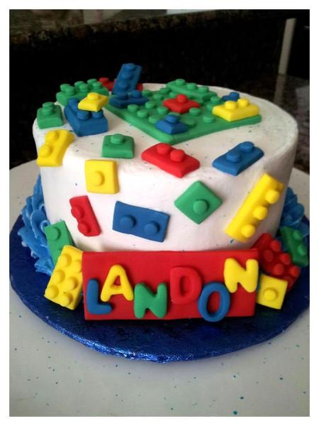 Lego Birthday Cake  All Things Legos
