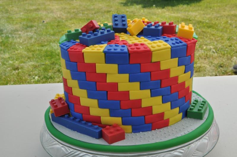 Lego Birthday Cake  PEACH OF CAKE