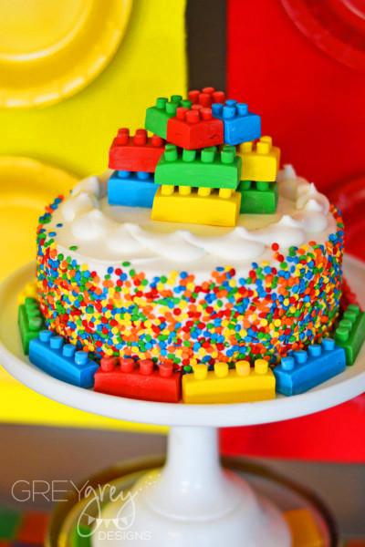 Lego Birthday Cake  GreyGrey Designs My Parties Lego Party