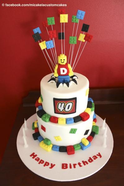 Lego Birthday Cake  Lego Birthday Cake