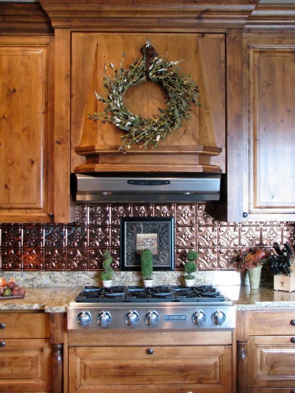 Metal Kitchen Backsplash Beautiful the Gathering Place Design Kitchen Backsplash Makeover