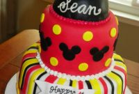 Mickey Mouse Birthday Cake Best Of Plumeria Cake Studio March 2011