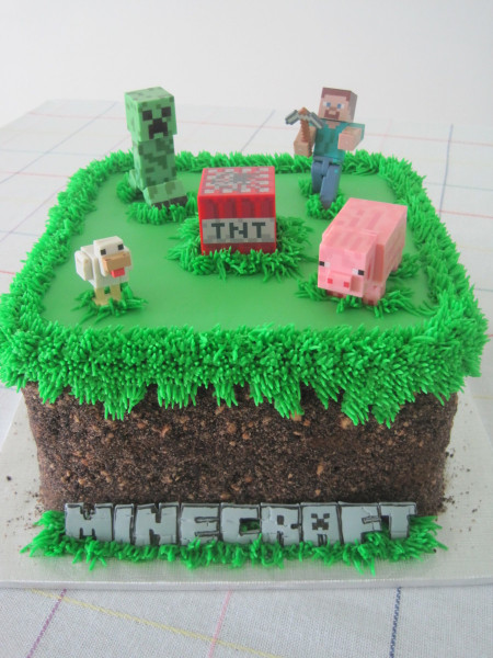 Minecraft Birthday Cake  The 30 Best Birthday Cakes for Boys – My Cake Recipes