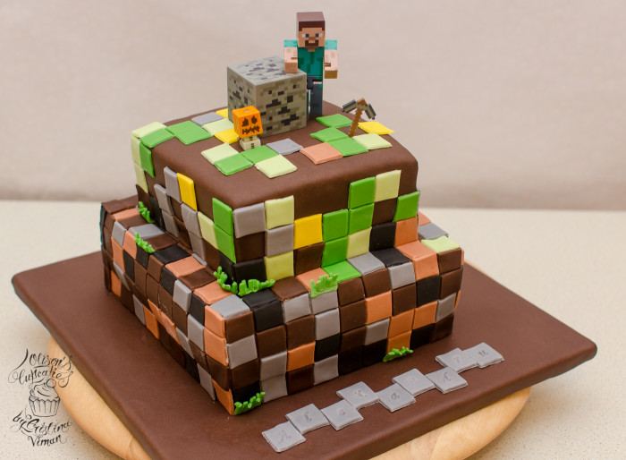Minecraft Birthday Cake  Minecraft Birthday Cake – Olison s Cupcakes