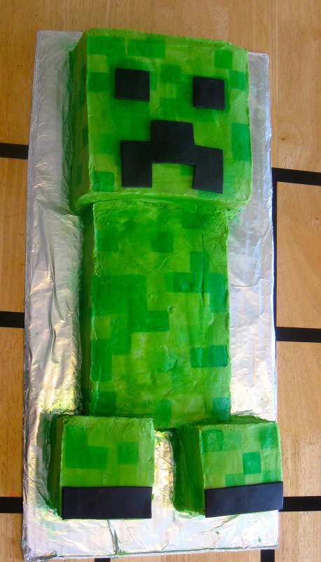 Minecraft Birthday Cake  the mama A Minecraft Birthday