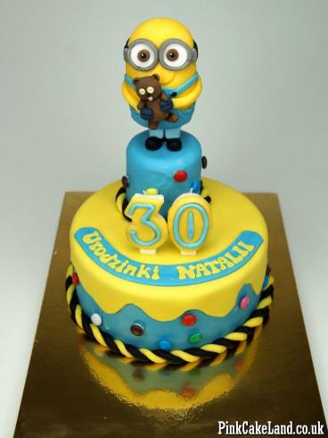 Minion Birthday Cake  17 Best ideas about Minions Birthday Cakes on Pinterest
