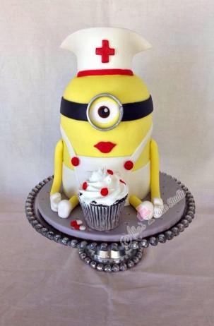 Minion Birthday Cake  Creative Despicable Me Minion Birthday Cake Ideas Crafty