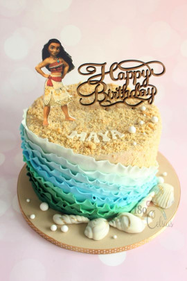 Moana Birthday Cake  Moana Birthday Cake cake by Joonie Tan CakesDecor