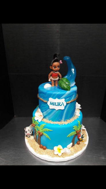 Moana Birthday Cake  Disney Moana birthday cake disneyprincess