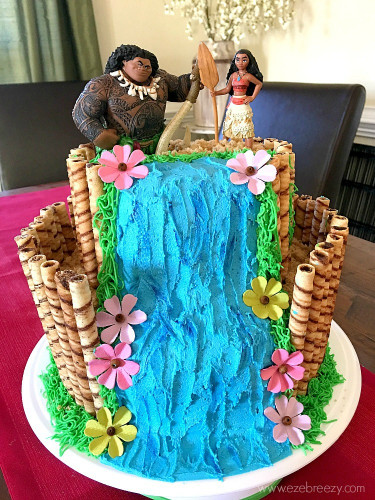 Moana Birthday Cake  How to Make A Moana Cake