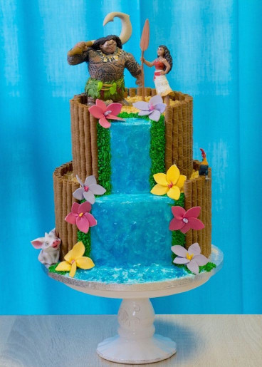 Moana Birthday Cake  152 best Moana Birthday Party Ideas images on Pinterest