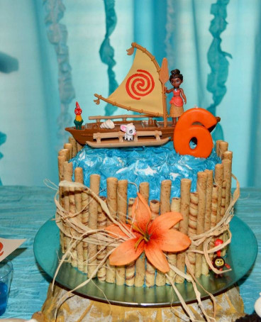 Moana Birthday Cake  Moana Party Cake Moana Party Pinterest