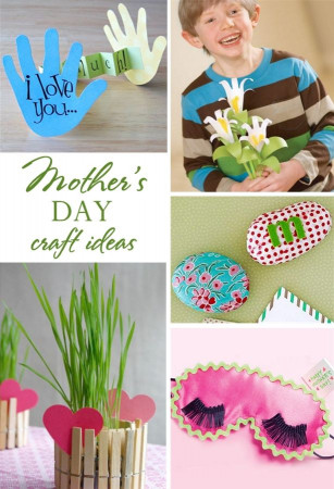 Mothers Day Craft Ideas For Kids  5 Easy Mother s Day Kid Craft Ideas