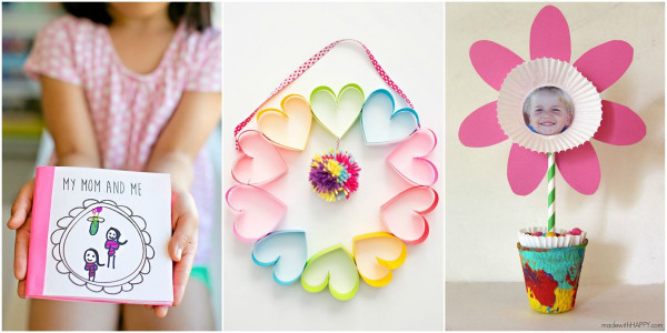 Mothers Day Craft Ideas For Kids  25 Cute Mother s Day Crafts for Kids Preschool Mothers