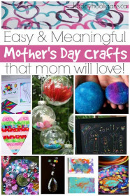 Mothers Day Craft Ideas For Kids  More Easy Mother s Day Crafts for Kids to Make Happy