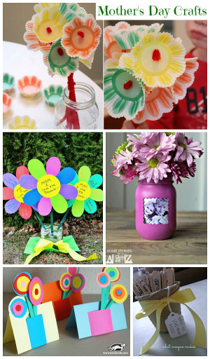 Mothers Day Craft Ideas For Kids  Mother s Day Craft Ideas Collection Moms & Munchkins