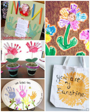 Mothers Day Craft Ideas For Kids  Mother s Day Handprint Crafts & Gift Ideas for Kids to