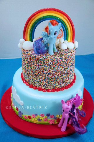 My Little Pony Birthday Cake  My Little Pony Cake CakeCentral