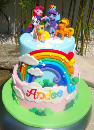 My Little Pony Birthday Cake  Best 25 My little pony cake ideas on Pinterest