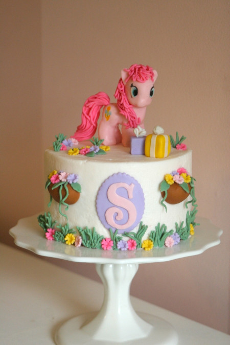 My Little Pony Birthday Cake  My Little Pony Cake With Pinkie Pie CakeCentral