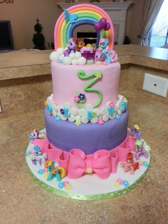My Little Pony Birthday Cake  17 Best images about My little pony Birthday on Pinterest