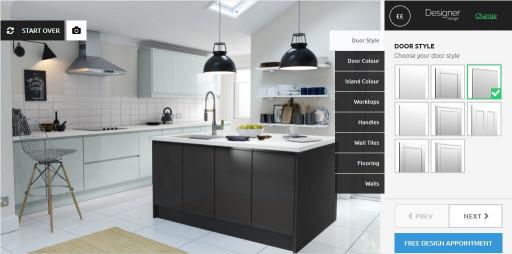 Online Kitchen Designer Our New line Kitchen Design Tool Prize Draw Wren