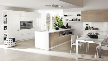 Open Kitchen Design  Contemporary Kitchens for and Small Spaces