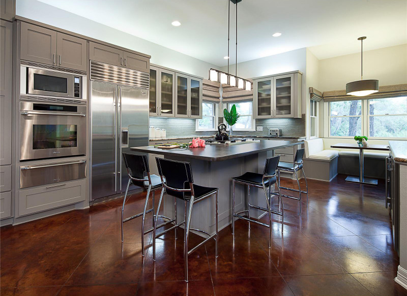 Open Kitchen Design  Open Contemporary Kitchen Design Ideas
