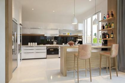 Open Kitchen Design Unique Interior Designs Filled with Texture