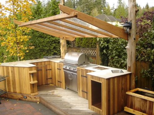 Outdoor Kitchen Design  95 Cool Outdoor Kitchen Designs DigsDigs
