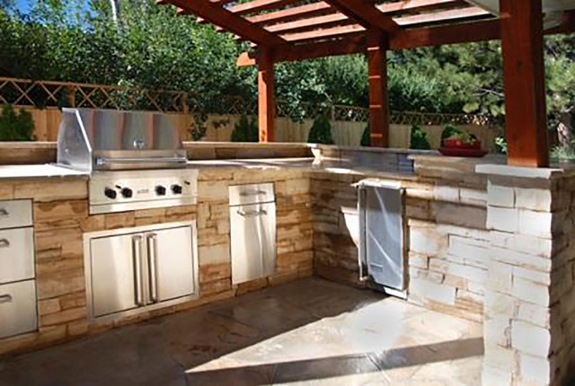 Outdoor Kitchen Design  Outdoor Kitchens The Hot Tub Factory Long Island Hot Tubs