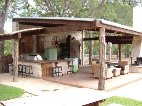 Outdoor Kitchen Design  22 Outdoor Kitchen Bar Designs Decorating Ideas