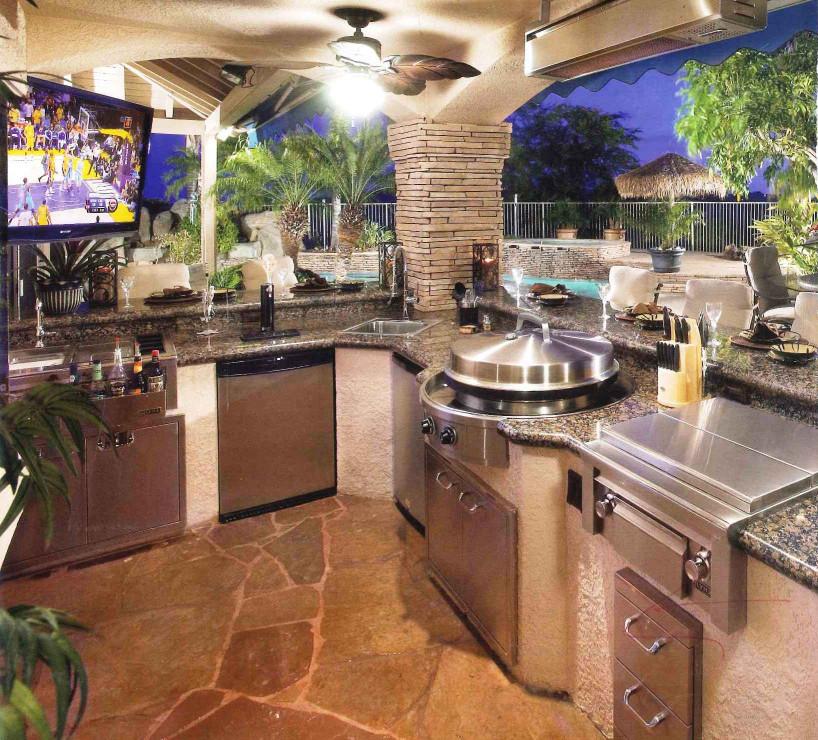 Outdoor Kitchen Design  design services ltd