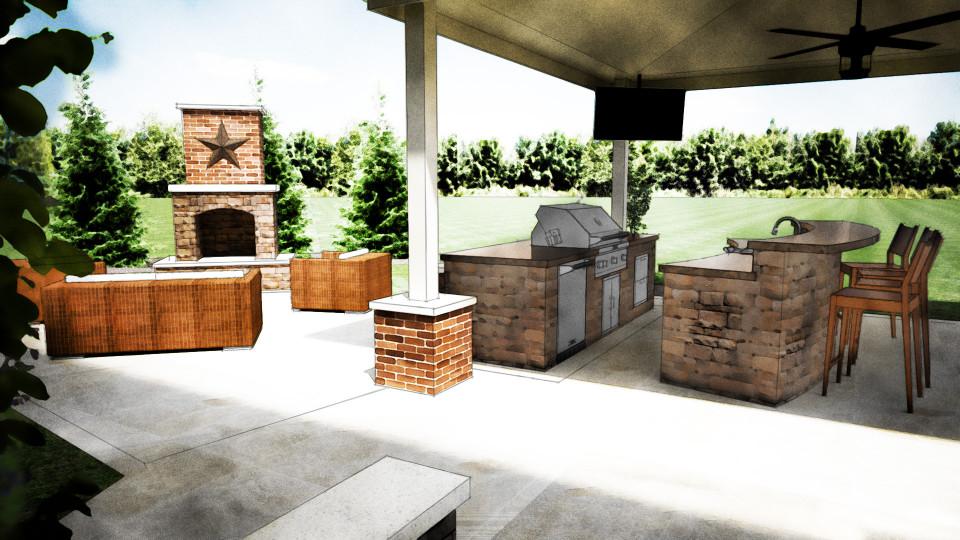 Outdoor Kitchen Design  Outdoor Kitchen Design Grills Pizza Ovens Columbus