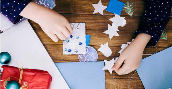 Paper Craft Ideas For Kids Under 5  DIY Wrapping Paper Projects for Kids