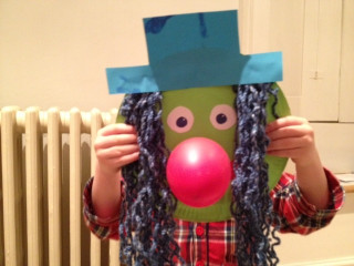 Paper Craft Ideas For Kids Under 5  Paper Plate Clown My Kid Craft