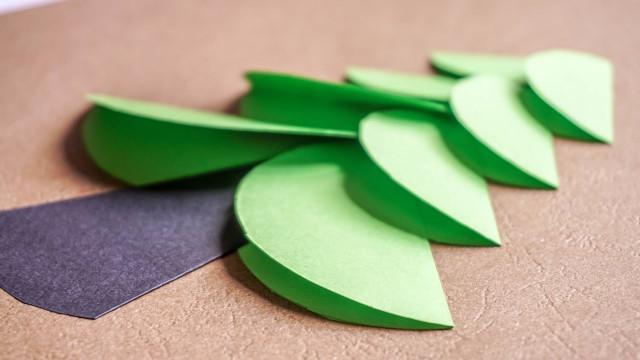 Paper Craft Ideas For Kids Under 5  Making Circle Tree kids papercrafts