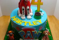 Paw Patrol Birthday Cake New December 2014
