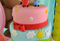 Peppa Pig Birthday Cake Fresh Partylicious events Pr Peppa Pig Party
