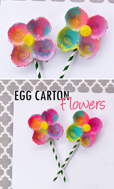 Pinterest Kids Crafts  Egg Carton Flowers I Heart Arts n Crafts