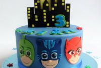 Pj Mask Birthday Cake Best Of P J Masks Cake