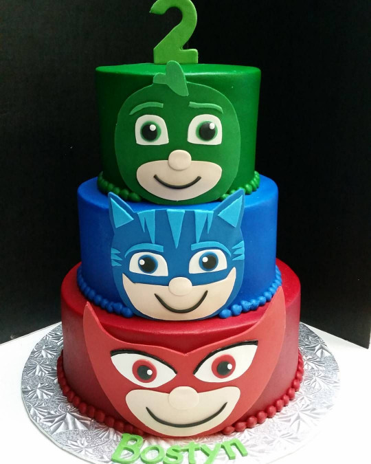 the 20 best ideas for pj mask birthday cake  home