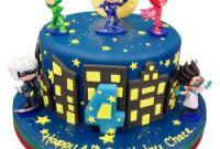Pj Masks Birthday Cake Beautiful Pj Masks Cake Birthday Cakes